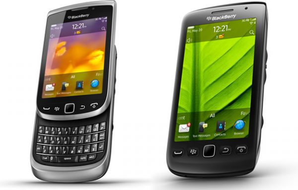 BlackBerry Torch 9810, Torch 9850 y Torch 9860
