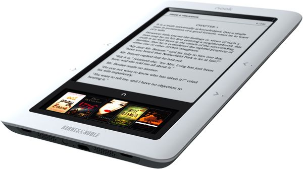 Nook, el eBook de Barnes & Noble con dos pantallas